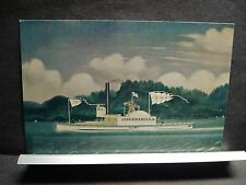 Tugboat JOHN BIRKBECK Naval Cover Unused Post Card