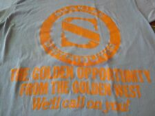 SHAKLEE THE GOLDEN OPPORTUNITY FROM THE GOLDEN WEST VINTAGE 80S TEE SHIRT