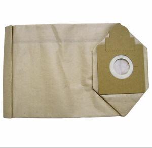AF1073 5 x HAKO PAPER DUST BAGS TO SUIT ROCKET VAC XP HA13657006