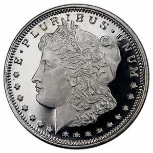 Highland Mint Morgan Dollar Design 1/2 oz Silver Round USA SKU26819