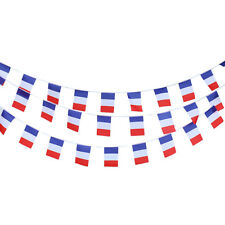BUNTING 33FT COUNTRY FRENCH NATIONAL FLAG PARTY GARLAND DECORATION