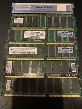 Lot Of Pc 2100 Various Sizes DDR Memory