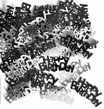 Words Birthday, Adult Party Confetti