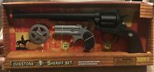 Wild West Sheriff Toy Set w/2 Guns And Badge New