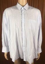 (Used) Mens Van Heusen Long Sleeve Button Front Shirt Size: 46 2XL Checks #2