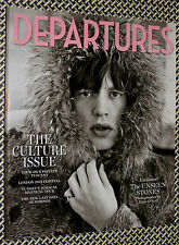 DEPARTURES Magazine, MICK JAGGER, UNSEEN ROLLING STONES, Pompeii, Culture Issue