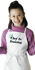 Cute Child's Cooking Apron Chef In Training Novelty Kids Aprons by CoolAprons