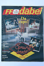 DDR Fernsehzeitschrift FF Dabei RARITÄT 15/1988 TOP !!