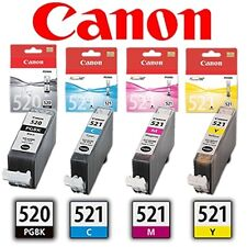 4x ORIGINALE CANON PIXMA ip3600 ip4600 ip4700 mx860 mx870 CARTUCCIA Set