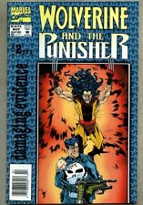 Wolverine and The Punisher Damaging Evidence #2-1993 vf- Newsstand Variant Cove