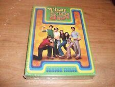 That 70s Show Season 3 (DVD, 2005, 4-Disc Set) Ashton Kutcher Comedy TV Show NEW