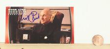 Patrick Stewart  Autographed Signed Topps Card w/coa  Star Trek Insurrection