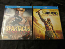 Spartacus Gods of the Arena Vengeance Blu ray DVD Box Set series lucy lawless