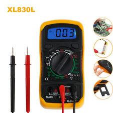 Polimetro Tester Multimetro Digital Voltimetro Amperimetro OHM Voltios XL830L