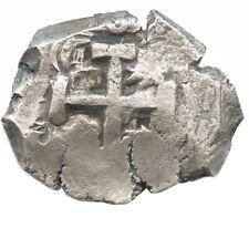 Colonial Potosi, Bolivia, silver cob 8 reales (piece of eight) 1769 V-Y #9003