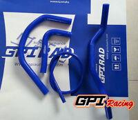 For 87-06 Yamaha YFZ350 Banshee 350 Silicone Radiator Coolant Hose BLUE
