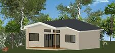 2 Bedroom DIY Granny Flat Kit - The Oceanview 60 for your slab - FC Weatherboard