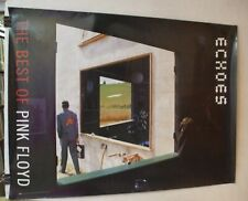 Pink Floyd 2-sided promo poster 'Echoes' 2001 Capitol Records Storm Thorgerson