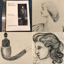 Vtg Art Gallery Exhibition Book Belgian Drawings The Piccadilly Gallery 1971 16p