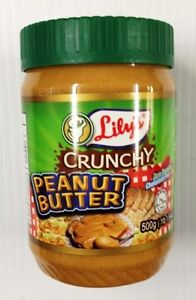 Lily's Crunchy Peanut Butter 500g