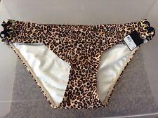 Victoria/'s Secret The Bow Side Tie Bikini Bottom White NWT New Large L