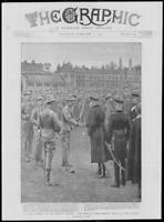 1900 Antique Print - MILITARY Imperial Yeomanry Prince Wales Officers  (256)
