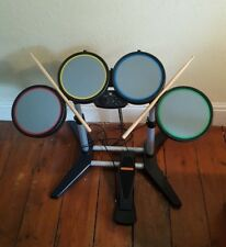 HARMONIX ROCK BAND DRUMS, FOOT PEDAL & STICKS, WIRED, PS3