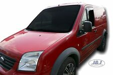 DFO15231 Ford Transit  Connect wind deflectors 'L' 2pc Internal fit TINTED HEKO