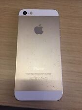 Apple Iphone 5s - 16GB-Plateado Blanco Desbloqueado-probado Totalmente Funcional &