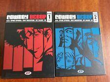 DVD COWBOY BEBOP ULTIMATE EDITION BOX 1 E 2