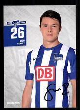Nico Schulz Autogrammkarte Hertha BSC Berlin 2012-13 Original +A 105420