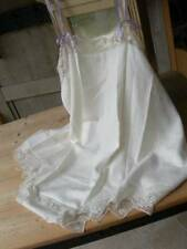 Pure silk antique French 1920s wedding trousseau lingerie camiknickers (A)