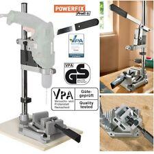 POWERFIX Bohrmaschinenständer mit Schraubstock Ständer Baumaschine Halter Bohrer