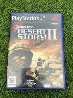 🎮 Conflict: Desert Storm II (PS2) War/Stealth Video Games - Fast and Free P&P🎮