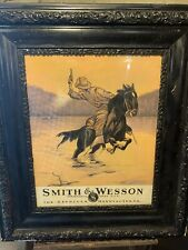 Vintage Smith And Wesson Advertizing Sign