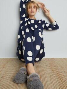 Next Blue SPOTTY Long sleeve Pyjama Set Size L NWT