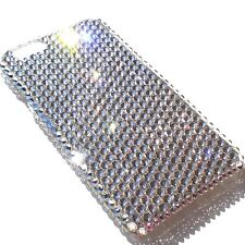 For iPhone X Clear Crystal Diamond Bling Back Case made with Swarovski Crystals