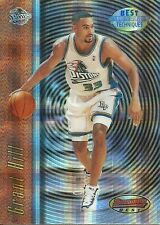 1997-98 BOWMANS BEST TECHNIQUES **ATOMIC REFRACTOR** GRANT HILL - CARD# T3