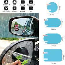 2PCS Rainproof Anti-Fog Car Rearview Mirror Film Hydrophobic Protective Sticker