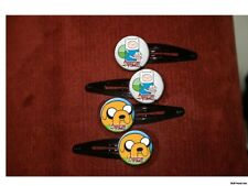 Adventure Time Fin and Jake set of 4 barrettes
