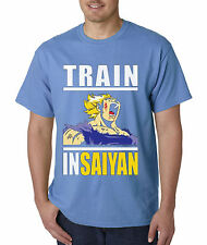 New Way 292 - Unisex T-Shirt Train Insaiyan Gym Workout Goku Dbz Dragon Ball Z