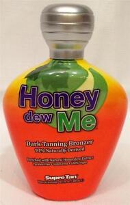 Supre HONEY DEW ME Dark Tanning Bronzer Honeydew Indoor Tanning Bed Lotion