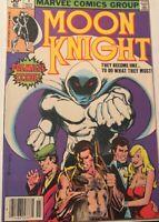 MOON KNIGHT #1 FIRST ISSUE!! NOVEMBER 1980!! Bill Sienkiewicz Art! VF-NM 9.0