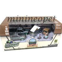 GREENLIGHT 58031 CAMPSITE CRUISERS US FOREST SERVICE USFS 1/64 7PC SET Chase