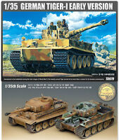 1/35 GERMAN TIGER-I EARLY VERSION #13239 ACADEMY MODEL HOBBY KITS
