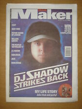 MELODY MAKER 1996 OCT 26 DJ SHADOW CAST BABY BIRD DEUS