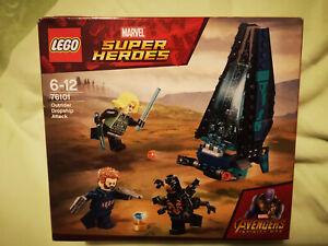 LEGO Marvel Avengers 76101 L'attaque du vaisseau par les outriders