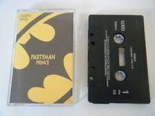 PRINCE PARTYMAN CASSETTE TAPE SINGLE WARNER WEA 1989