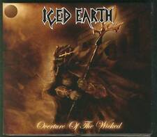 ICED EARTH Overture Of The Wicked 2007 CD DIGIPACK SPV STEAMHAMMER