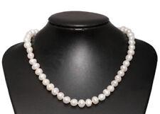 Collares y colgantes de joyería gargantillas blanco perla